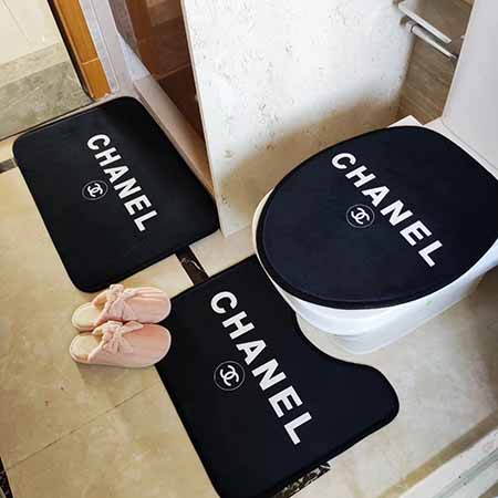 CHANEL トイレマットセット